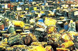 Toxic waste recurring Hazards