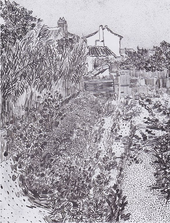 File:Van Gogh - Garten mit Blumen1.jpeg - Wikimedia Commons