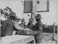 Vanguard of new york conscripts arrive at Camp Upton, Long Island. One thousand-nine hundred-forty . . . - NARA - 533526.tif
