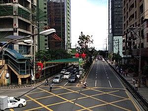 Julia Vargas Avenue - The intersection of Julia Vargas Avenue and F. Ortigas Jr. Road (Emerald Avenue)