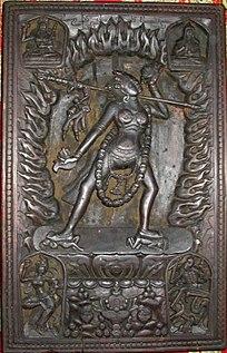 Type of sacred female spirit in Vajrayana Buddhism