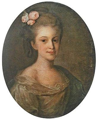 Varvara Golovina - Image: Varvara Nikolaevna Golovina by Rokotov