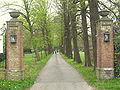 Velsen-Zuid - Rijksweg bij 116 - Toegangshek Waterland.JPG