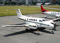 Venezuela Air Force Beech B200C Super King Air AADPR-1.jpg