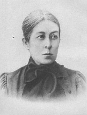 Vera Figner - Vera Figner as she appeared during the Revolution of 1905.