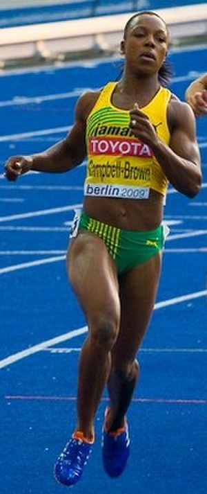 Veronica Campbell-Brown - Veronica Campbell Brown at the 2009 World Championships