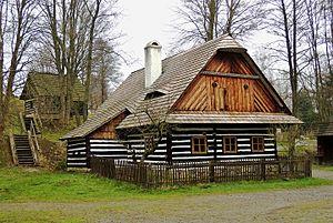 Veselý Kopec - Soubor lidových staveb Vysočina, CZ150408 - 01