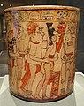 Vessel with Battle Scene, 600-900 AD, Mesoamerica, Guatemala, Nebaj region, Maya, ceramic and slip, view 2 - Cleveland Museum of Art - DSC08799.JPG