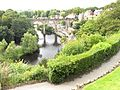 Viaduct view from castle ruins, Knaresbrough - panoramio.jpg