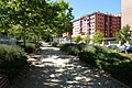 Vicálvaro - Sidewalk alongside main road.jpg