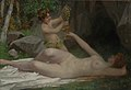 Victor Schivert - Little Bacchus and Nymph.jpg
