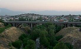 Мост Ахтанак со стороны церкви Св. Саркиса
