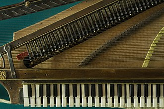 Orphica - Image: Vienna Orphic transportable clavichord 9544