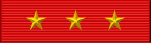 Lê Đức Anh - Image: Vietnam Military Exploit Order ribbon