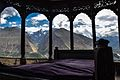 View from one of the arches in Baltit Fort, Karimabad, Hunza Valley.jpg