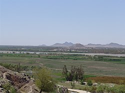 Arghandab Valley, on the outskirt of the city