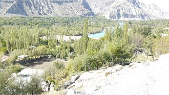Ghizer District - View of Gulmuti from Domorah
