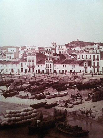 Sant Feliu de Guíxols - View of the old port of Sant Feliu de Guíxols.