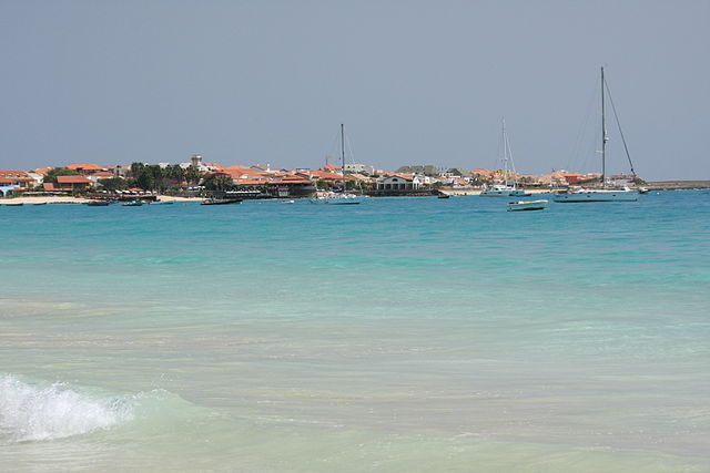 View towards Santa Maria, Sal, Cape Verde Islands (4334788994)