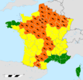 Vigilance météorologique MétéoFrance du 27 juillet 2012 16h.png