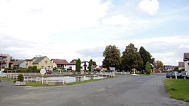 Village green in Tlumačov (01).jpg