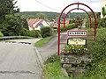 Vilsberg (Moselle) city limit sign.jpg