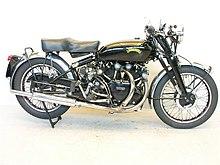 Vintage looking motorcycles