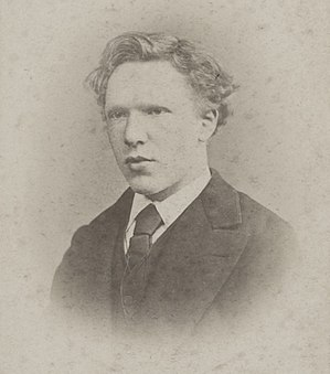 The Letters of Vincent van Gogh - Image: Vincent van Gogh January 1873 cropped