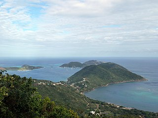 Virgin Gorda Island which is part of the British Virgin Islands