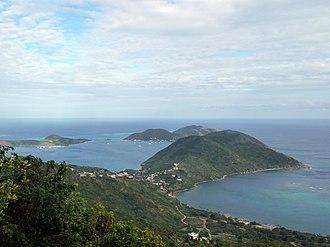 Virgin Gorda - Overlooking the North Sound, 2010