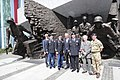 Visit of the US President Donald Trump in Poland Home Army Warsaw Uprising Monument.jpg