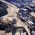 Vista general de la zona de sitges de la via de Magòria, 1990.jpg