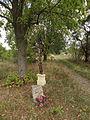 Vitín - křížek a pomníček na sever od vsi (u zemědělského družstva) (2).JPG