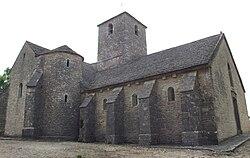 Architecture romane vikidia l encyclop die des 8 13 ans for Eglise romane exterieur
