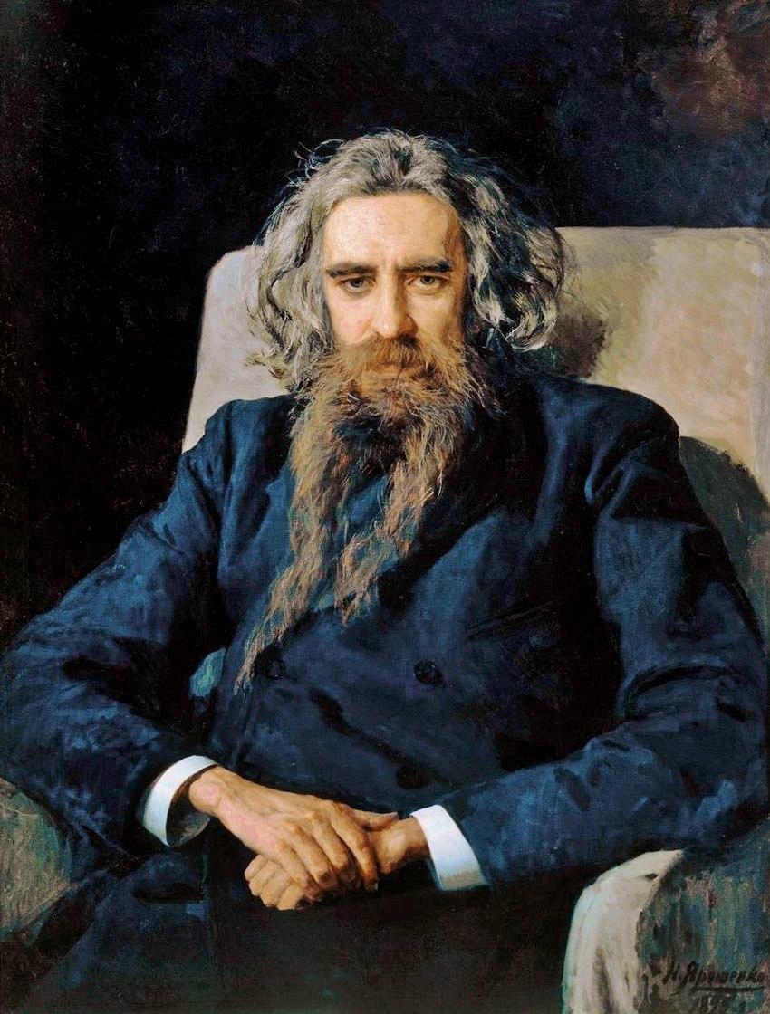 Vladimir Solovyov 1892 by Nikolay Yarochenko