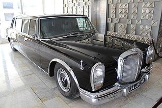 Mercedes-Benz 600 - Habib Bourguiba's 600 Pullman