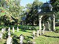 Vojenský hřbitov (Olomouc), hroby vojáků.JPG