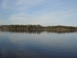 Tutayevsky District - The Volga River in Tutayevsky District