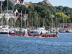 Vom Flensburger Drachenbootrennen, 2013, Bild 05.JPG