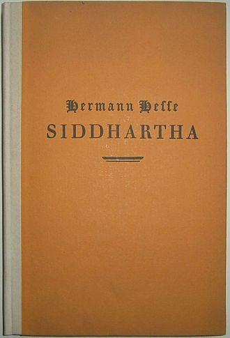 Siddhartha (novel) - First edition cover