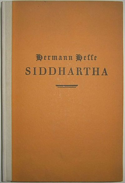 Picture of a book: Siddhartha