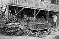 Voz z listnim ali steljnim košem v Zgornjih Vogličah 1951.jpg