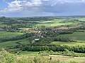 Vue Village depuis Terasse Ancien Château Abbatial Vézelay - Saint-Père (FR89) - 2021-05-17 - 1.jpg