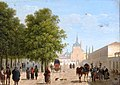 Vue du couvent des Récollets à Madrid Canella.jpg