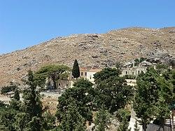 Vue générale du monastère de Préveli.JPG