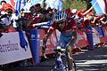 Vuelta a España 2013-.Nibali (maillót rojo) en el Naranco.jpg