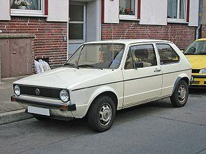 Volkswagen Golf Mk1 - A pre-facelift VW Golf Mk1.
