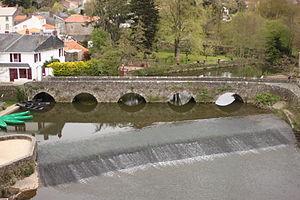 Rocheservière - The Gallo-Roman bridge in Rocheserviere