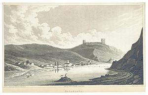 Balaklava - Balaklava harbor, 1830