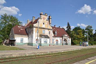 Sierpc railway station - Image: WK15 Sierpc (1) Lichen 99